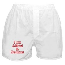 I Am Alfred E. Neuman Boxer Shorts