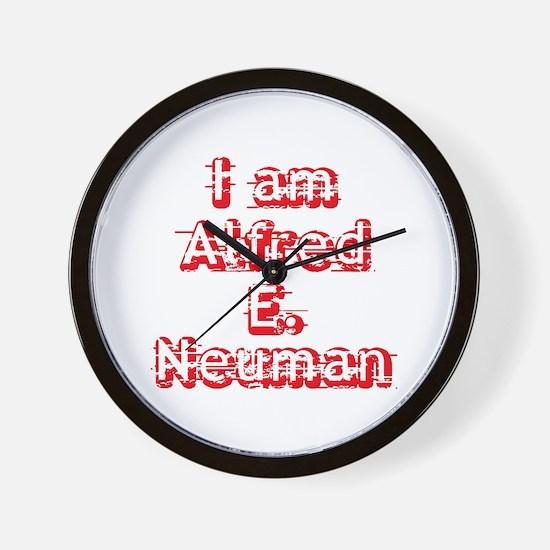 I Am Alfred E. Neuman Wall Clock
