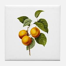 Provencal Peaches Tile Coaster