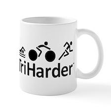 iTriHarder triathlon motto Mug