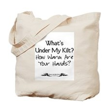 What's Under My Kilt? Tote Bag
