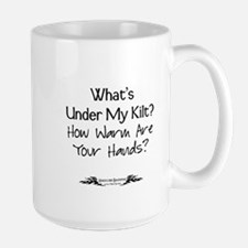 What's Under My Kilt? Large Mug