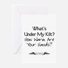 What's Under My Kilt? Greeting Cards (Pk of 10)
