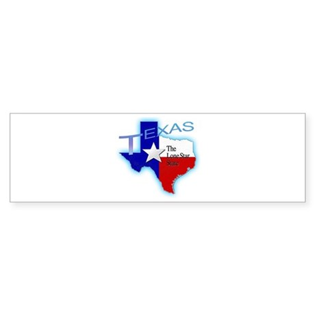 Texas Sticker (Bumper)