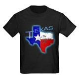 Texas Kids T-shirts (Dark)