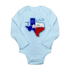 Texas Long Sleeve Infant Bodysuit