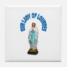 PRAY FOR US Tile Coaster