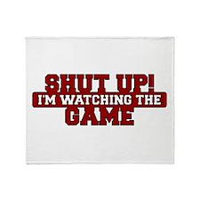 Shut Up! I'm watching the game (Red) Stadium Blan
