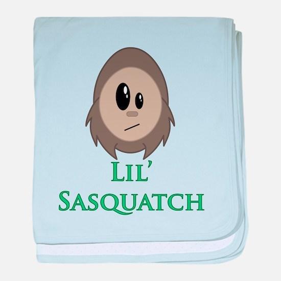Little Sasquatch/Bigfoot baby blanket