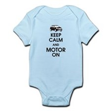 Keep Calm & Motor On Mini Infant Bodysuit