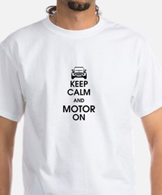 Keep Calm & Motor On Mini Shirt