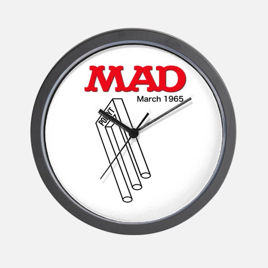 Mad Poiuyt Wall Clock