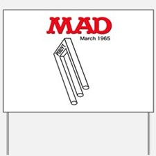 Mad Poiuyt Yard Sign