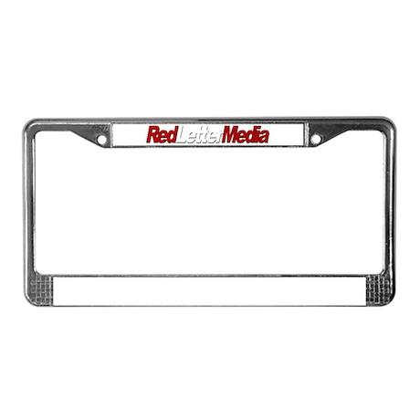 Red Letter Media License Plate Frame