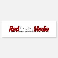 Red Letter Media Bumper Bumper Bumper Sticker