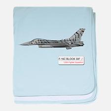 F-16 baby blanket