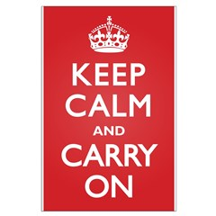 Keep Calm Carry On Posters