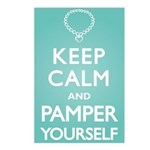 Keep Calm Pamper Postcards (Package of 8)