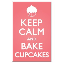 Keep Calm Cupcakes Posters