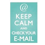 Keep Calm E-Mail Postcards (Package of 8)