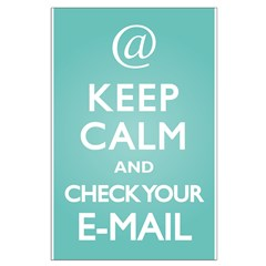 Keep Calm E-Mail Posters