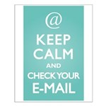 Keep Calm E-Mail Small Poster