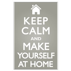 Keep Calm Home Posters