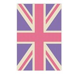 Funky Union Jack Postcards (Package of 8)