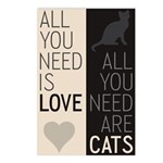 All You Need Are Cats Postcards (Package of 8)