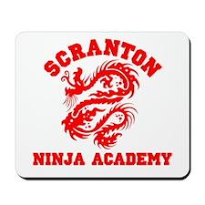Scranton Ninja Academy Mousepad