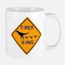 T-Rex Crossing Mug