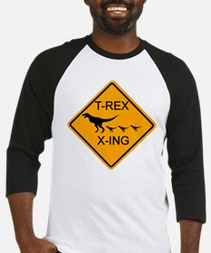 T-Rex Crossing Baseball Jersey