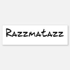 Razzmatazz Sticker (Bumper)