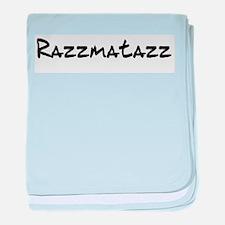 Razzmatazz baby blanket