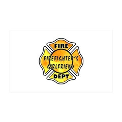 Firefighters Girlfriend Wall Decal