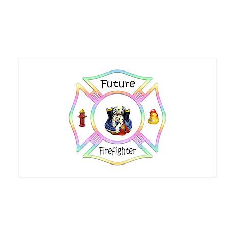 Future Firefighter Pastel 38.5 x 24.5 Wall Peel