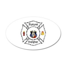 Future Firefighter Dalmatian Wall Decal