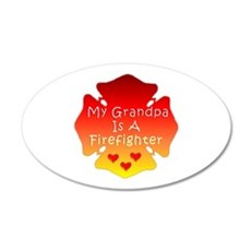 My Grandpa Is A Firefighter Wall Decal
