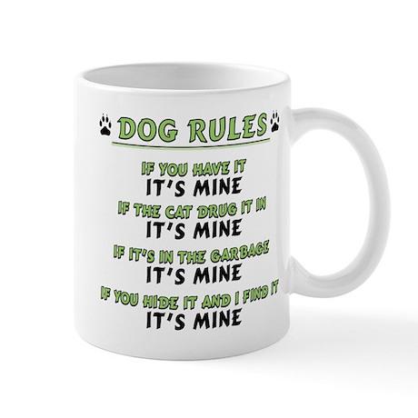 Dog Rules Mug