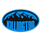 Killington mountain Stickers