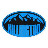 Killington mountain Bumper Stickers