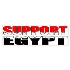 Support Egypt Bumper Sticker