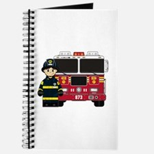 Firefighter and Fire Engine Journal