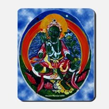 Green Tara Buddhist Mousepad