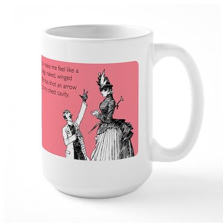 Cupid's Arrow Large Mug