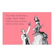 Cupid's Arrow Postcards (Package of 8)