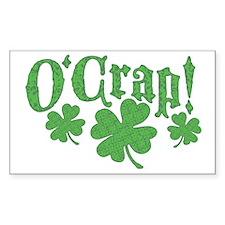 O'Crap Oh Crap Decal