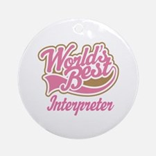 Interpreter Ornament (Round)