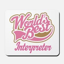 Interpreter Mousepad