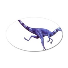 Oviraptor Raptor Dinosaur 22x14 Oval Wall Peel